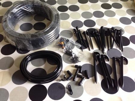 Easy watering drip irrigation kit